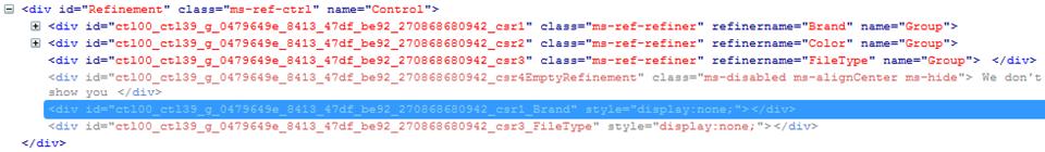 HTML Mark-up