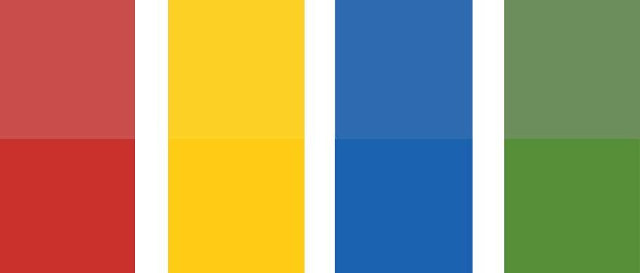 BIWUG Colors Old vs New