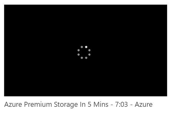Loading video - Video Portal Result