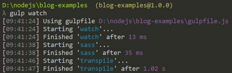 Multiple tasks in a watch task