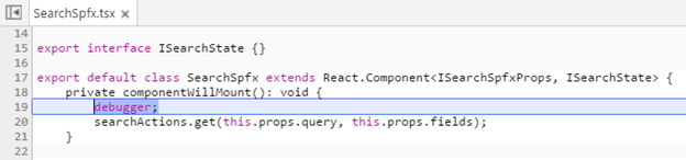 Debugging your code with the debugger statement