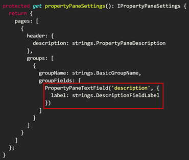 Toggle settings in the property pane of your SharePoint
