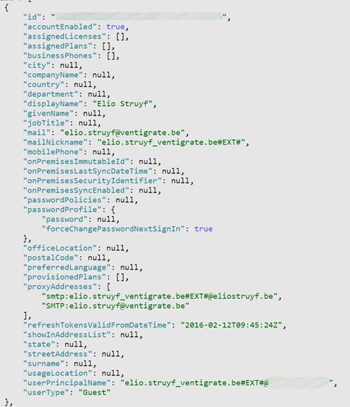 Retrieving external / guest users via the Microsoft Graph API