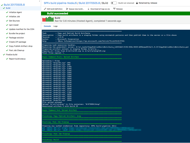 Use build and release pipelines in Azure DevOps to automate