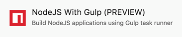 NodeJS with Gulp template
