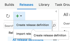 Create a release definition