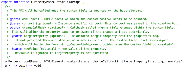 How to let custom property pane fields enable the apply
