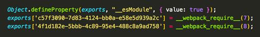 Bundle component ID details