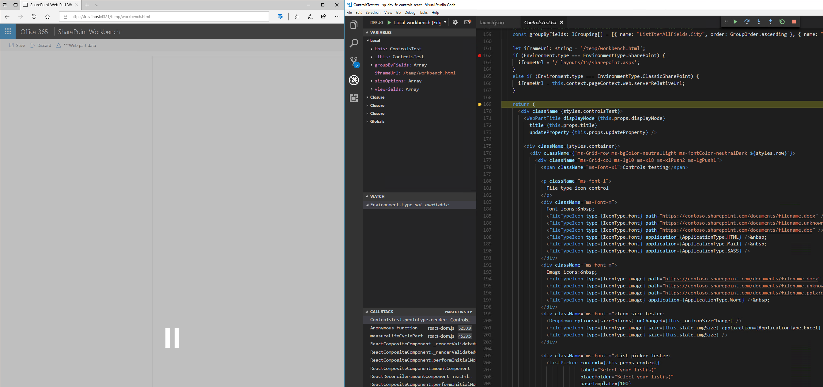 Debugging in Visual Studio Code with Microsoft Edge
