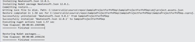 Installing version 12.0.1 of Newtonsoft.Json