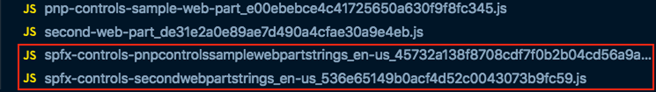 Generated localization files