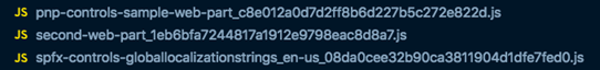 One global localization file